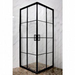 מקלחון פינתי 405 פרזול שחור פסים 80-77